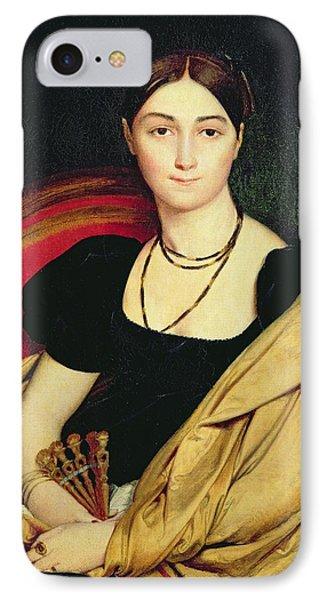 Madame Devaucay IPhone Case by Jean Auguste Dominique Ingres