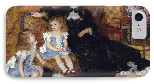 Madame Georges Charpentier And Her Children IPhone Case