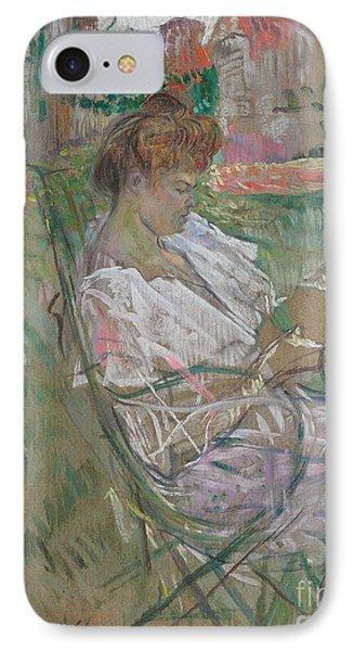 Madame Misia Natanson IPhone Case by Henri de Toulouse-Lautrec