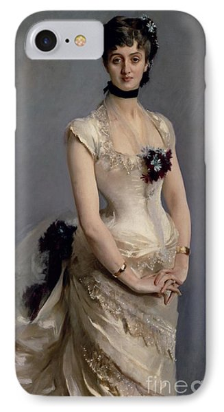Madame Paul Poirson IPhone Case by John Singer Sargent