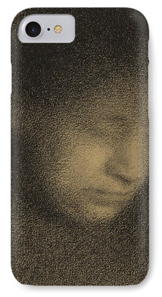 Madame Seurat IPhone Case by Georges Pierre Seurat