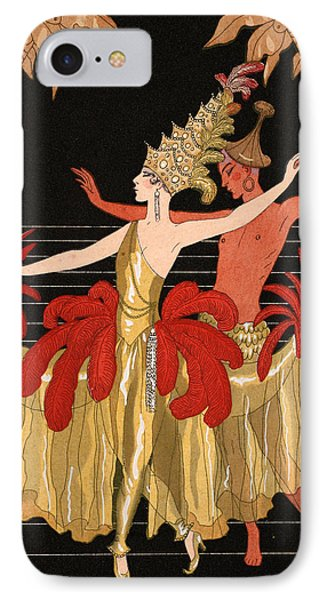 Mademoiselle Sorel At The Grand Prix Ball IPhone Case