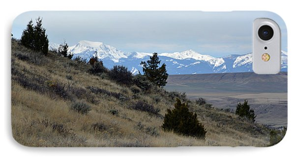 Madison Buffalo Jump State Park In Spring IPhone Case by Bruce Gourley