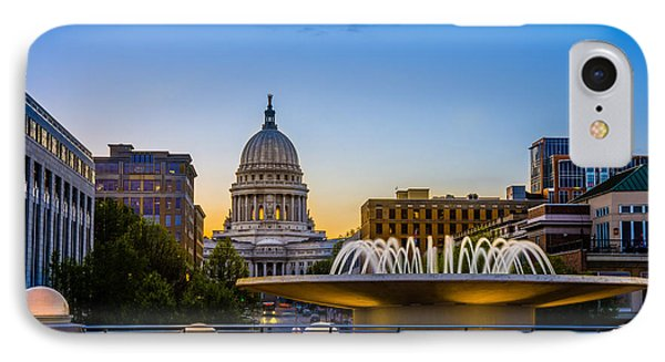 Madison Domes Phone Case by Mark Goodman