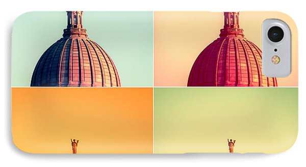Madison Polyptych IPhone Case by Todd Klassy