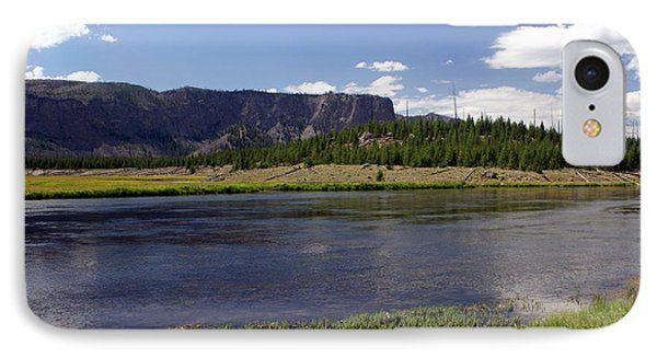 Madison River Valley Phone Case by Marty Koch