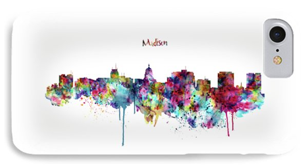 Madison Skyline Silhouette IPhone Case