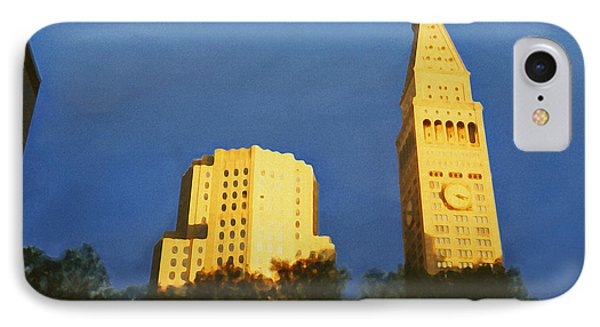 Madison Square Park IPhone Case by David Klaboe