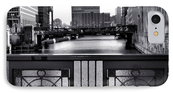 Madison Street Bridge - 3 Phone Case by Ely Arsha