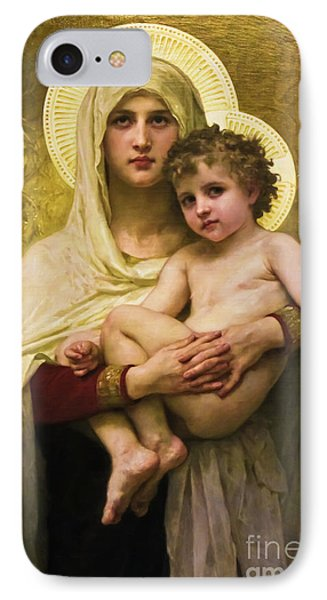 Madonna And Child IPhone Case by Colleen Kammerer