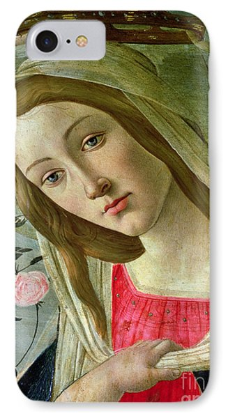Madonna And Child Crowned By Angels IPhone Case by Sandro Botticelli