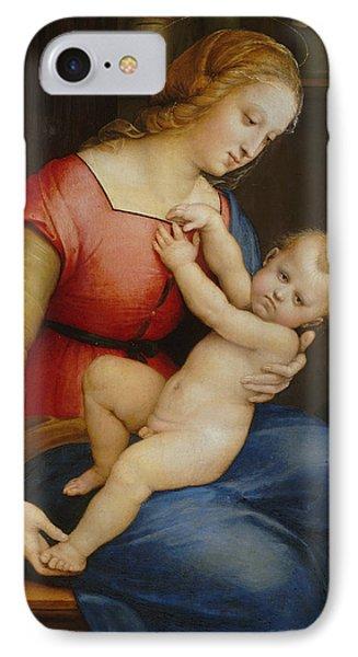 Madonna D'orleans IPhone Case by Raphael