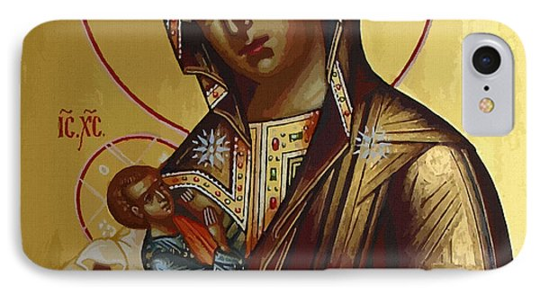 Madonna Enthroned IPhone Case