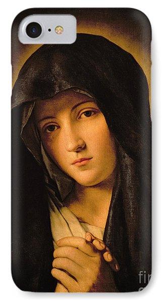 Madonna IPhone Case by Il Sassoferrato