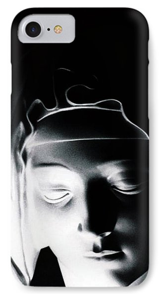 IPhone Case featuring the photograph Madonna by Joseph Frank Baraba