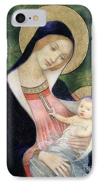 Madonna Of The Fir Tree IPhone Case