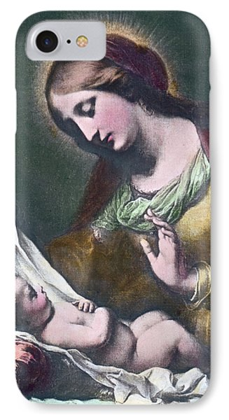 Madonna With Child IPhone Case by Carlo Dolci