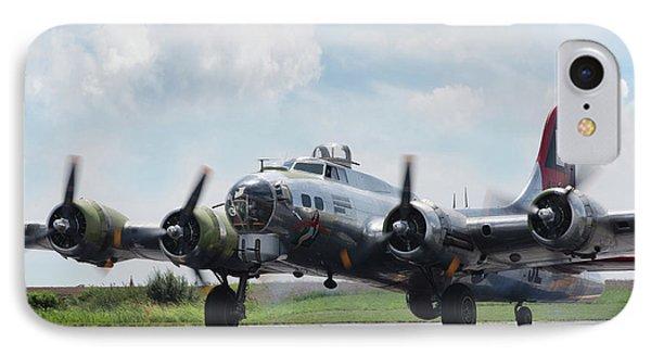 Madras Maiden B-17 IPhone Case