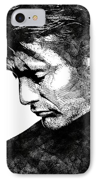 Mads Mikkelsen IPhone Case by Mihaela Pater