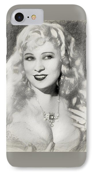 Mae West IPhone Case by Quim Abella