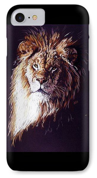 IPhone Case featuring the drawing Maestro by Barbara Keith