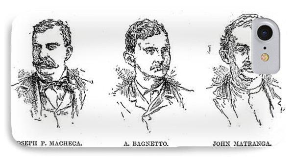 Mafia Leaders, C1890 Phone Case by Granger