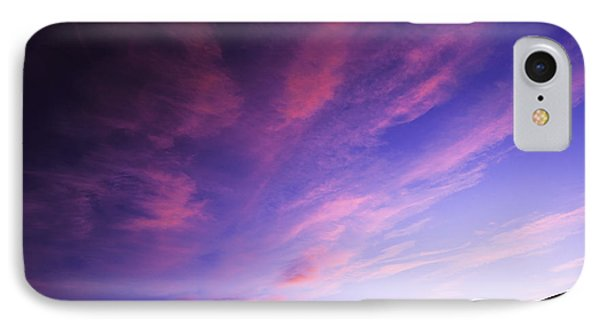 Magenta Explosion In Boise Idaho Usa IPhone Case