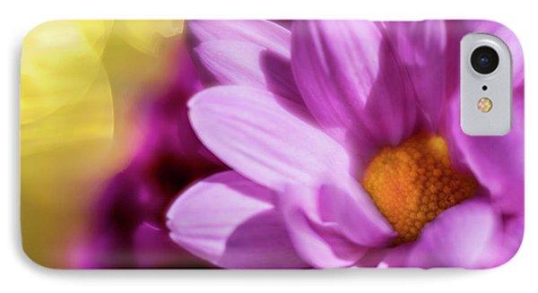 Magenta Floral IPhone Case