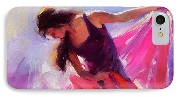 T Shirts iPhone 7 Case - Magenta by Steve Henderson