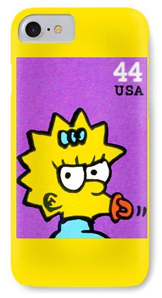 Maggie Simpson IPhone Case