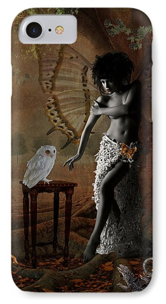 IPhone Case featuring the digital art Maggie's World by Nola Lee Kelsey