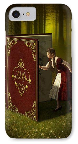 Magic Book Of Tales IPhone Case