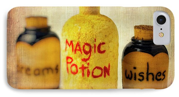 Magic Bottle IPhone Case by Garry Gay