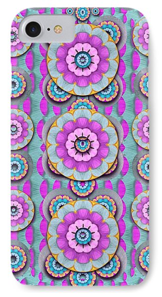 Magic Flowers From  The Paradise Of Lotus IPhone Case