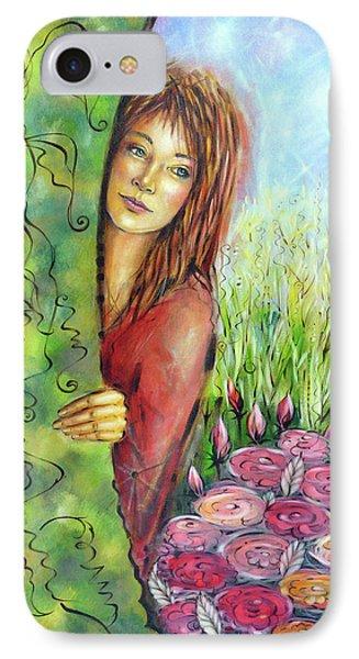 Magic Garden 021108 Phone Case by Selena Boron