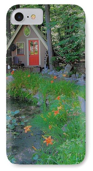 IPhone Case featuring the photograph Magic Garden by Susan Carella
