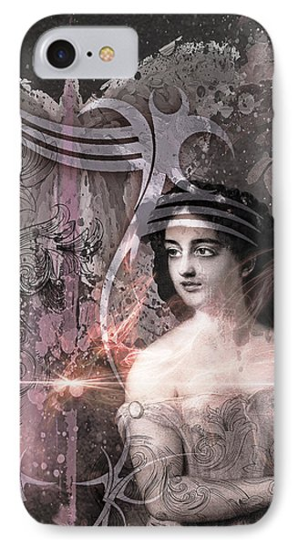 Magic Lute IPhone Case by Rosemary Smith