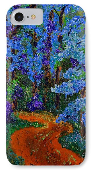 Magical Blue Forest IPhone Case