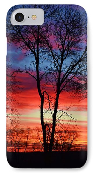 Magical Colors In The Sky IPhone Case by Dacia Doroff