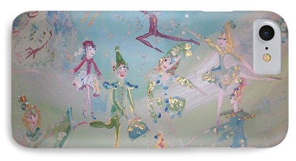 Magical Elf Dance IPhone Case by Judith Desrosiers