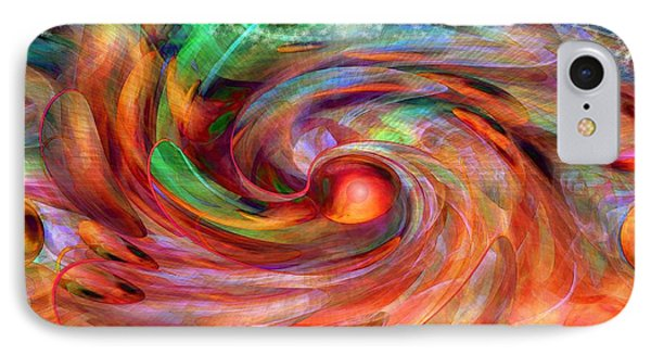 Magical Energy IPhone Case by Linda Sannuti