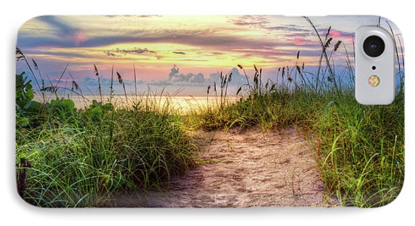 IPhone Case featuring the photograph Magical Light In The Dunes by Debra and Dave Vanderlaan