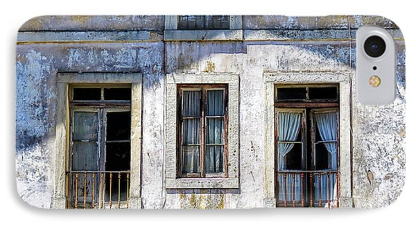 IPhone Case featuring the photograph Magical Light On Sintra Windows by Marion McCristall