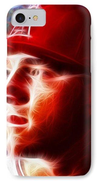 Magical Mike Trout Phone Case by Paul Van Scott