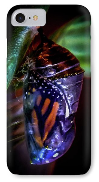 Magical Monarch IPhone Case by Karen Wiles