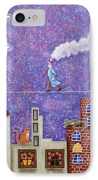 Magical Night Phone Case by Graciela Bello