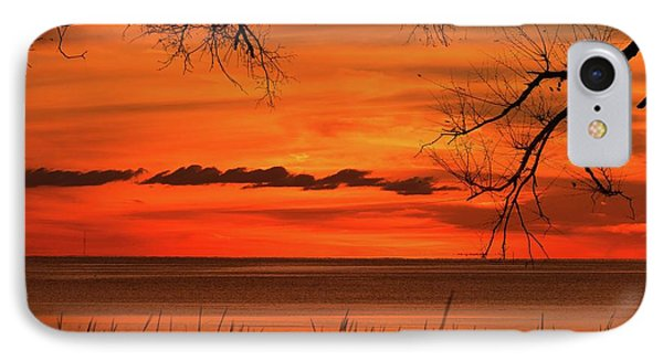 Magical Orange Sunset Sky IPhone Case