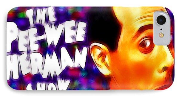 Magical Pee Wee Herman Phone Case by Paul Van Scott
