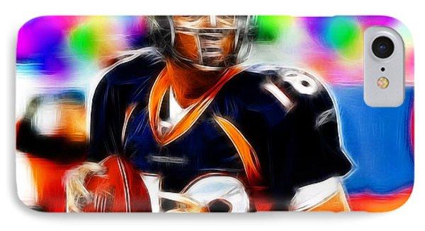 Magical Peyton Manning Borncos Phone Case by Paul Van Scott