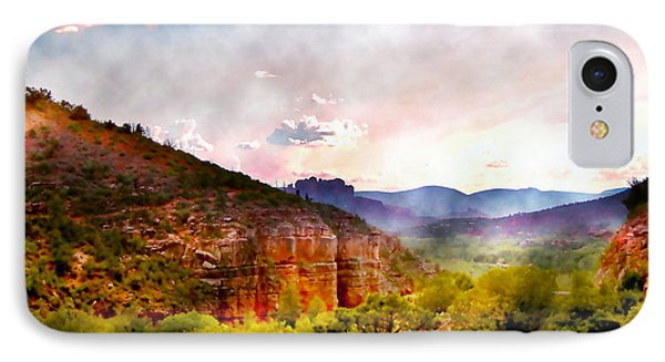 Magical Sedona IPhone Case by Ellen Heaverlo